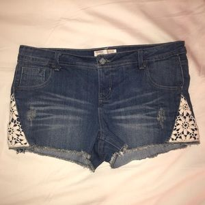 No Boundaries Denim Shorts
